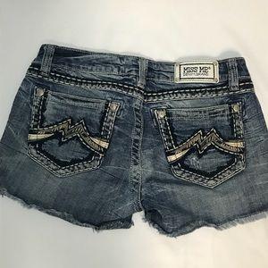 Miss Me shorts EUC Size 29